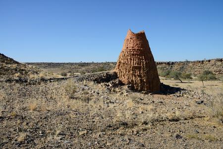 Clay kiln, Holoog, Namibia
