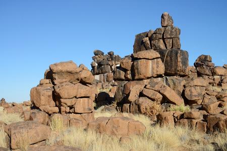 Giants Playground, Keetmanshoop, Namibia 版權商用圖片