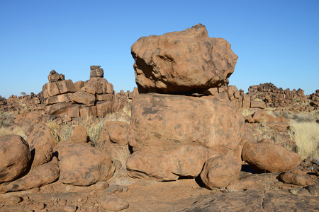 Giants Playground, Keetmanshoop, Namibia Stock Photo