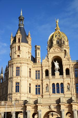 Historic Castle of Schwerin, Mecklenburg-Vorpommern, Germany