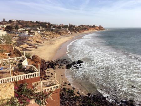 Paradise beach in Toubab Dialao, Senegal