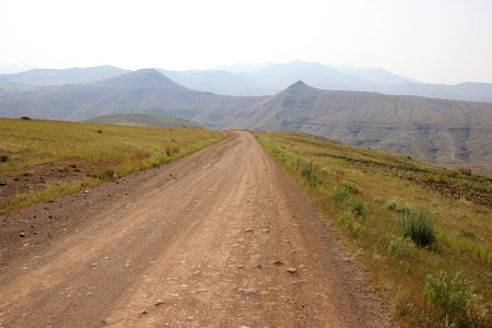 Beautiful landscape and scenery in Lesotho, Southern Africa Stok Fotoğraf