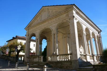 Sacro Monte of Varese, 1st chapel, Unesco World Heritage, Italy Stock Photo