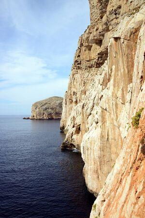 Grotta di Nettuno, Sardinië, Italië Stockfoto