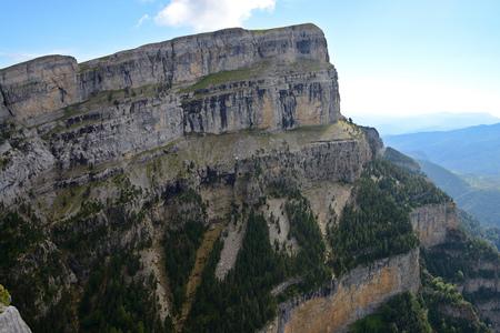 Staggering Sestrales Track in beautiful Parque Nacional de Ordesa y Monte Perdido, Pyrenees, Spain, Europe