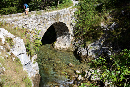 Urdon to Tresviso Track, PR30, Picos de Europa, Spain, Europe