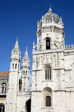 The Jeronimos Monastery or Hieronymites Monastery, Lisbon, Portugal