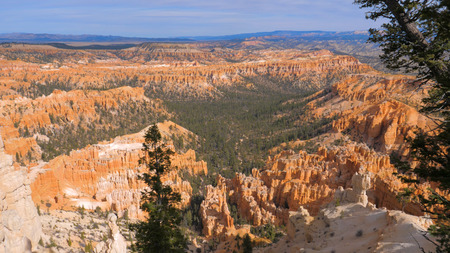 Sand Mountain Red Orange Bryce Canyon National Park USA