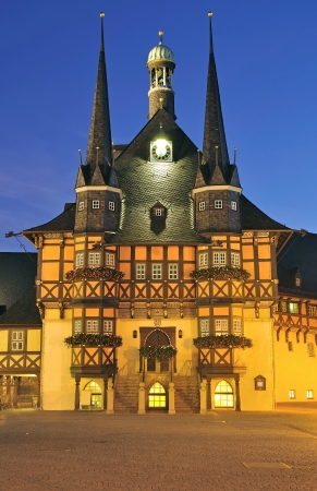 Town Hall of Wernigerode,Harz Region,Germany