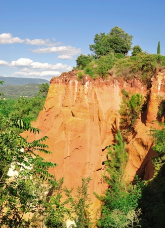 roussillon: Ocher Quarries of Roussillon, France