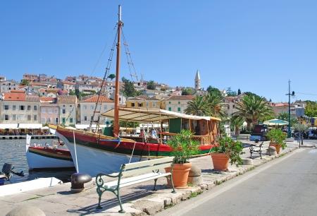 Mali Losinj auf Losinj Island, Kroatien Lizenzfreie Bilder