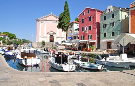 the idyllic Village of Veli Losinj on Losinj Island,Croatia