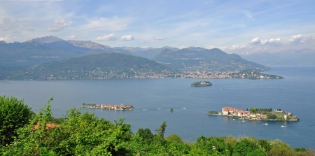 bella: Borromean Islands with Isola Bella,Lake Maggiore,Italy
