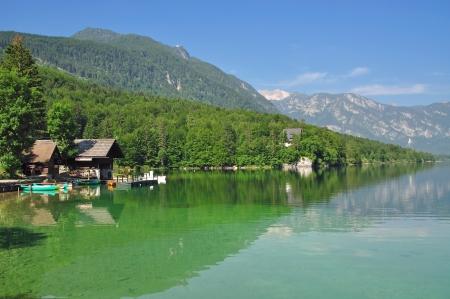 bohinj: Lake Bohinj near Bled,Slovenia