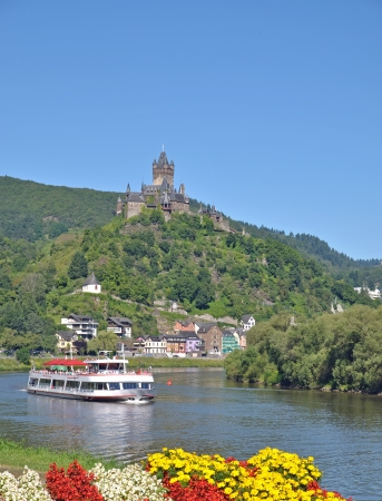 the famous Village of Cochem,Mosel River,Germany photo