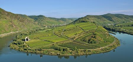 mosel: the famous Mosel Rover Bow near Bremm,Germany