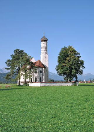 schwangau: St.Coloman in Schwangau Region,Bavaria,Germany