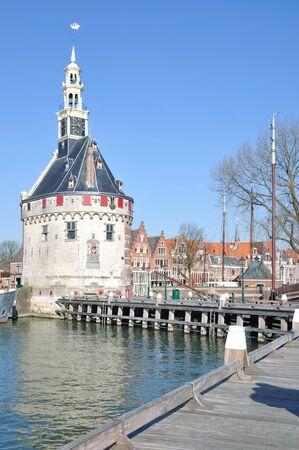 hoorn: the picturesque Village of Hoorn at Ijsselmeer,Netherland