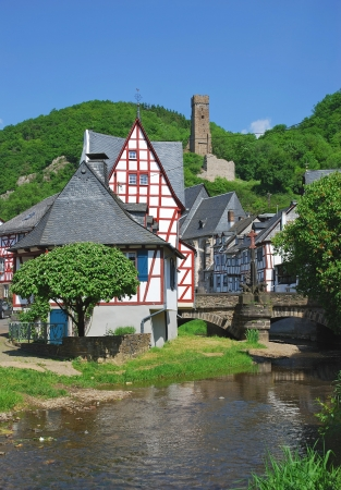 the picturesque Village of Monreal in Eifel,Germany