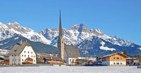 Maria Alm im Salzburger Land, Österreich