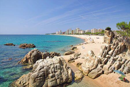 costa brava: Platja d'Aro Costa Brava an der