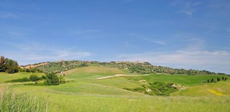 volterra: the famous Village of Volterra in Tuscany,Italy