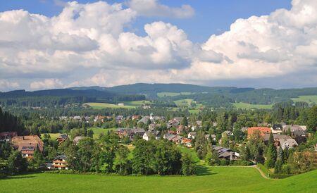 Dorf Hinterzarten im Schwarzwald, Deutschland