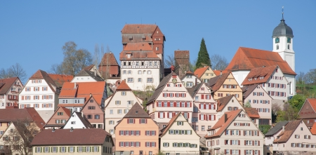 Village of Altensteig in Black Forest,Germany