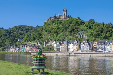 the famous Village of Cochem,Mosel Valley,Germany