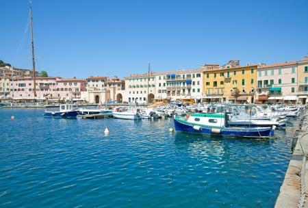 Portoferraio on Elba Island,Tuscany,Italy