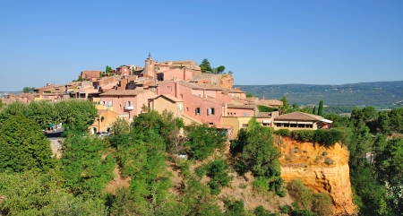 roussillon: the famous Village of Roussillon in Provence,France