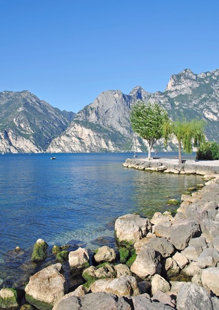 idyllic Place at Lake Garda near Torbole Stock Photo - 17906006