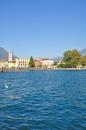 Riva del Garda at Lake Garda,Italy Stock Photo - 17906004