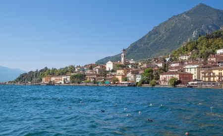 the popular Village of Limone sul Garda at Lake Garda,Italy Stock Photo - 19152163