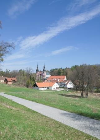 masuria: the famous Church of Swieta Lipka in Masuria,Poland