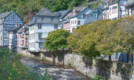 the picturesque Village of Monschau in Eifel,Germany