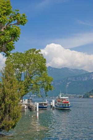 in Tremezzo at Lake Como in italian Lake District,Italy