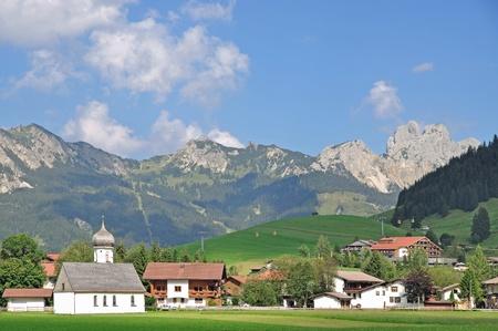 tal: popular Village of Tannheim in Tannheimer Tal,Tirol,Austria