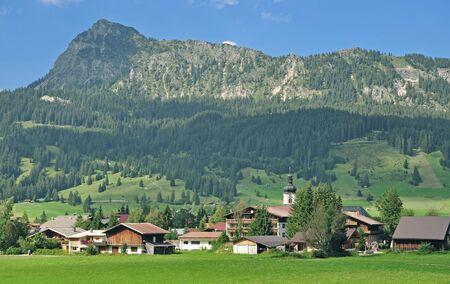 tal: Village of Tannheim in Tannheimer Tal,Tirol,Austria