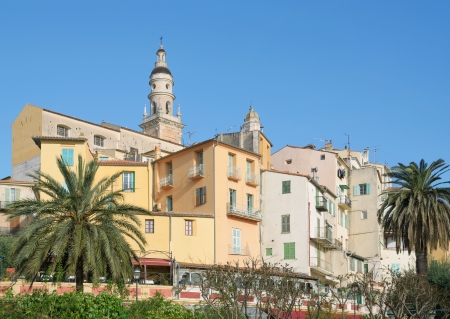 menton: Menton at the french Riviera,South of France