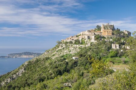 ze: the famous medieval Village of �ze at french Riviera near Cannes and Monaco