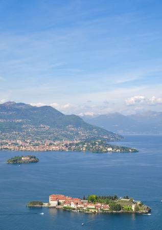 isola: View to Isola Bella,Lake Maggiore,Piedmont,Italy