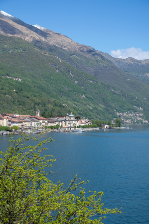 View to Canobbio at Lake Maggiore,italian Lake District,Italy Stock Photo - 22523588