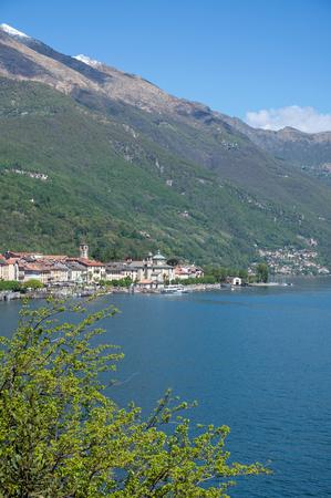 View to Canobbio at Lake Maggiore,italian Lake District,Italy Stock Photo - 22523588