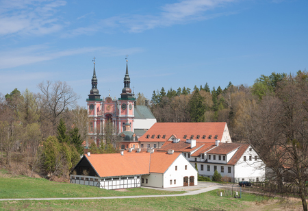 masuria: the famous Monastery of Swieta Lipka,Masuria,Poland