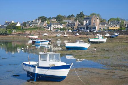 ploumanach: Cote de Granit Rose,Ploumanach,Brittany,France