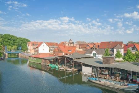 プラウノイ栽培園・ アム ・ ゼー、メクレンブルク湖地区、ドイツ 写真素材