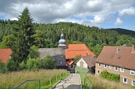 brocken: Village of Altenau near Brocken Mountain,Harz,Germany