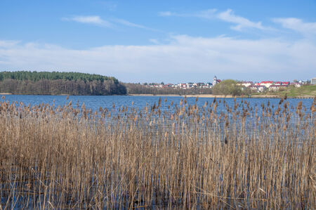 masuria: Village of Mragowo,Masuria,East Prussia,Poland