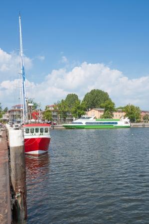 Hafen von Lauterbach, Insel Rügen, Mecklenburg-Vorpommern, Deutschland